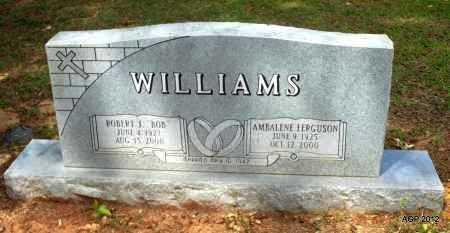 "WILLIAMS, ROBERT J ""BOB"" - Bradley County, Arkansas | ROBERT J ""BOB"" WILLIAMS - Arkansas Gravestone Photos"