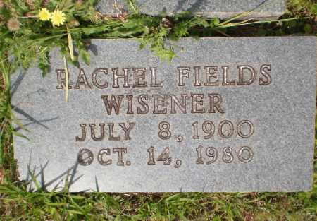FIELDS WISENER, RACHEL - Bradley County, Arkansas   RACHEL FIELDS WISENER - Arkansas Gravestone Photos
