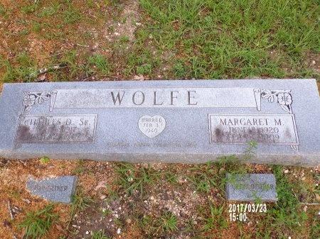 WOLFE, SR, CHARLES DANIEL - Bradley County, Arkansas | CHARLES DANIEL WOLFE, SR - Arkansas Gravestone Photos