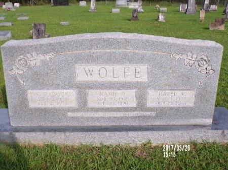 WOLFE, NANIE P - Bradley County, Arkansas | NANIE P WOLFE - Arkansas Gravestone Photos