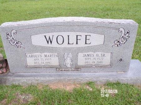 WOLFE, CAROLYN - Bradley County, Arkansas | CAROLYN WOLFE - Arkansas Gravestone Photos