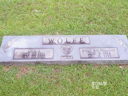 WOLFE, WILLIE MAE - Bradley County, Arkansas | WILLIE MAE WOLFE - Arkansas Gravestone Photos