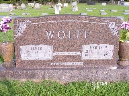 WOLFE, MYRTIS - Bradley County, Arkansas   MYRTIS WOLFE - Arkansas Gravestone Photos