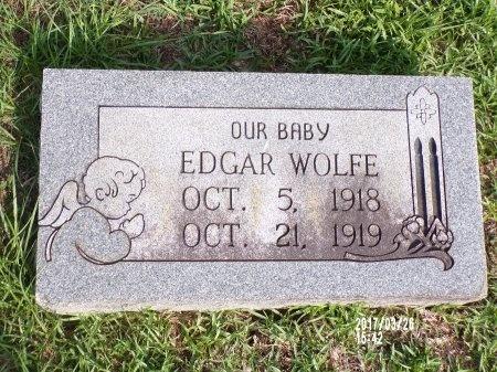 WOLFE, EDGAR - Bradley County, Arkansas | EDGAR WOLFE - Arkansas Gravestone Photos