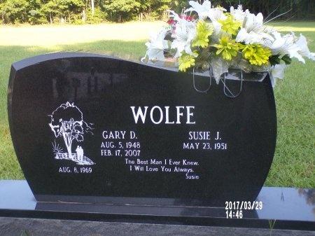 WOLFE, GARY D - Bradley County, Arkansas | GARY D WOLFE - Arkansas Gravestone Photos