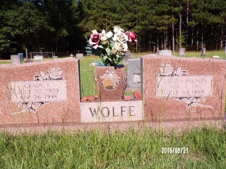 WOLFE, GRADY TREAVOR - Bradley County, Arkansas | GRADY TREAVOR WOLFE - Arkansas Gravestone Photos