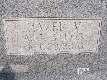 WOLFE, HAZEL V (CLOSE UP) - Bradley County, Arkansas | HAZEL V (CLOSE UP) WOLFE - Arkansas Gravestone Photos