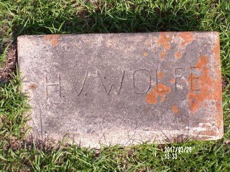 WOLFE, HILLIARD VASTINE - Bradley County, Arkansas | HILLIARD VASTINE WOLFE - Arkansas Gravestone Photos