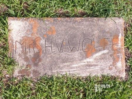 WOLFE, JANE LOU - Bradley County, Arkansas | JANE LOU WOLFE - Arkansas Gravestone Photos