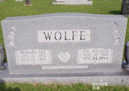 WOLFE, IVY - Bradley County, Arkansas | IVY WOLFE - Arkansas Gravestone Photos