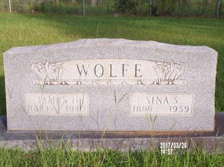 WOLFE, SINA SARAH - Bradley County, Arkansas   SINA SARAH WOLFE - Arkansas Gravestone Photos
