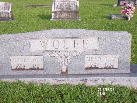 WOLFE, MERRY RILLA - Bradley County, Arkansas | MERRY RILLA WOLFE - Arkansas Gravestone Photos