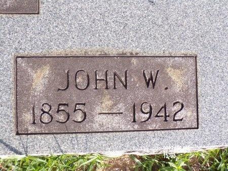 WOLFE, JOHN W (CLOSE UP) - Bradley County, Arkansas | JOHN W (CLOSE UP) WOLFE - Arkansas Gravestone Photos