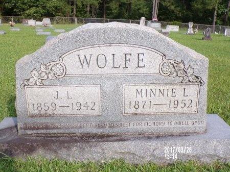 WOLFE, JOHN L - Bradley County, Arkansas | JOHN L WOLFE - Arkansas Gravestone Photos