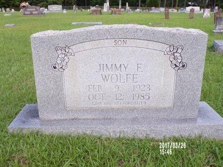 WOLFE, JIMMY F - Bradley County, Arkansas | JIMMY F WOLFE - Arkansas Gravestone Photos