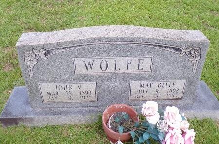 WOLFE, MAE BELLE - Bradley County, Arkansas   MAE BELLE WOLFE - Arkansas Gravestone Photos