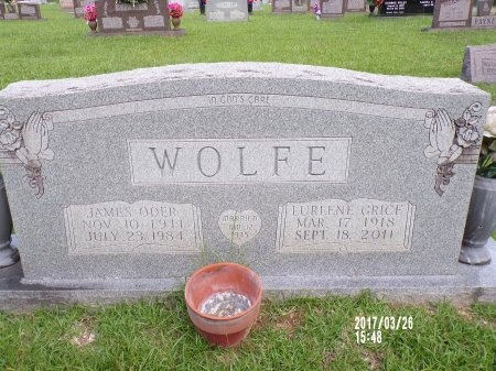 WOLFE, LURLENE - Bradley County, Arkansas | LURLENE WOLFE - Arkansas Gravestone Photos