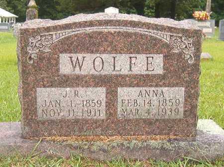 WOLFE, ANNA - Bradley County, Arkansas   ANNA WOLFE - Arkansas Gravestone Photos