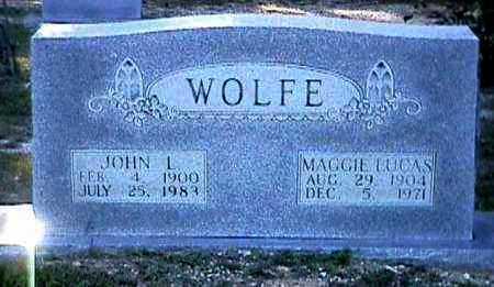 WOLFE, MAGGIE - Bradley County, Arkansas | MAGGIE WOLFE - Arkansas Gravestone Photos
