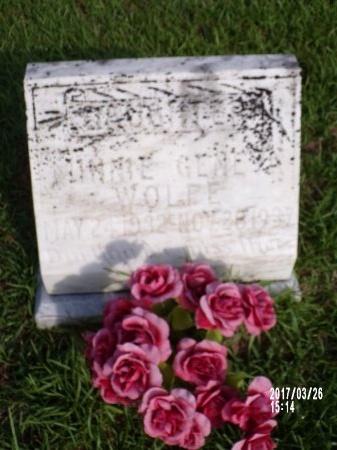 WOLFE, MINNIE GENE - Bradley County, Arkansas   MINNIE GENE WOLFE - Arkansas Gravestone Photos