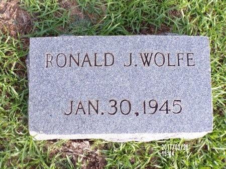WOLFE, RONALD J - Bradley County, Arkansas | RONALD J WOLFE - Arkansas Gravestone Photos