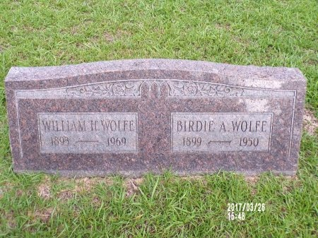 WOLFE, WILLIAM H - Bradley County, Arkansas | WILLIAM H WOLFE - Arkansas Gravestone Photos