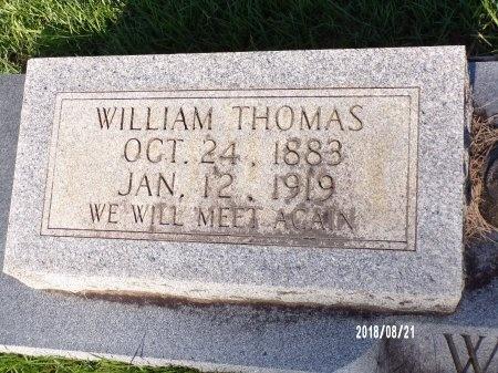 WOLFE, WILLIAM THOMAS (CLOSE UP) - Bradley County, Arkansas | WILLIAM THOMAS (CLOSE UP) WOLFE - Arkansas Gravestone Photos