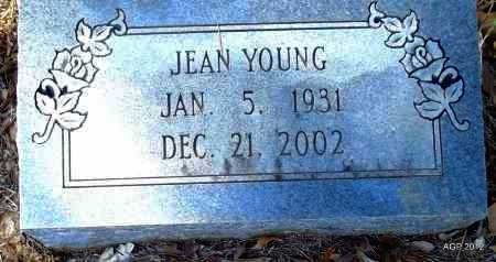 GANNAWAY YOUNG, JEAN - Bradley County, Arkansas   JEAN GANNAWAY YOUNG - Arkansas Gravestone Photos