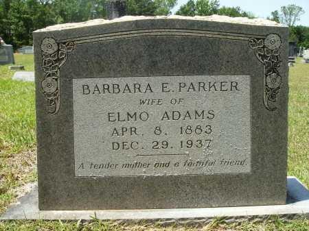 ADAMS, BARBARA E - Calhoun County, Arkansas | BARBARA E ADAMS - Arkansas Gravestone Photos