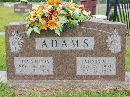 ADAMS, EDNA - Calhoun County, Arkansas   EDNA ADAMS - Arkansas Gravestone Photos