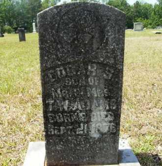 ADAMS, EDGAR S - Calhoun County, Arkansas | EDGAR S ADAMS - Arkansas Gravestone Photos