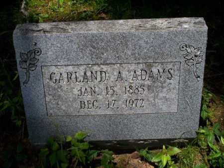ADAMS, GARLAND A - Calhoun County, Arkansas | GARLAND A ADAMS - Arkansas Gravestone Photos