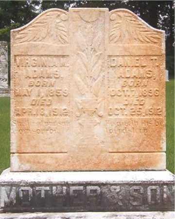 ADAMS, DANIEL T - Calhoun County, Arkansas | DANIEL T ADAMS - Arkansas Gravestone Photos