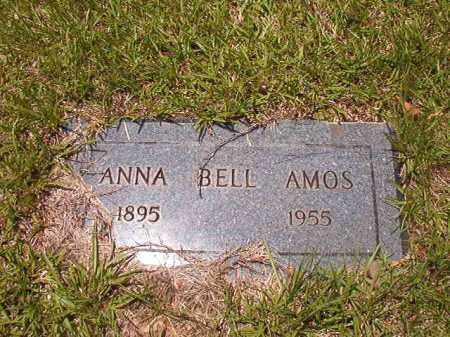 AMOS, ANNA BELL - Calhoun County, Arkansas   ANNA BELL AMOS - Arkansas Gravestone Photos