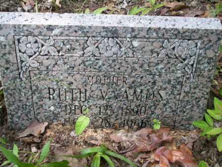 AMOS, RUTH V - Calhoun County, Arkansas   RUTH V AMOS - Arkansas Gravestone Photos