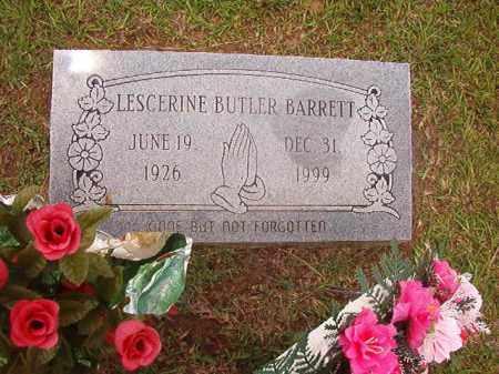 BARRETT, LESCERINE - Calhoun County, Arkansas | LESCERINE BARRETT - Arkansas Gravestone Photos