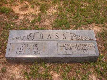 BASS, DOCTER - Calhoun County, Arkansas | DOCTER BASS - Arkansas Gravestone Photos