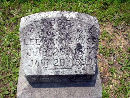 BASS, DOT - Calhoun County, Arkansas   DOT BASS - Arkansas Gravestone Photos
