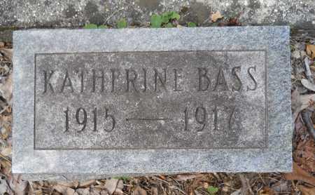 BASS, KATHERINE - Calhoun County, Arkansas | KATHERINE BASS - Arkansas Gravestone Photos