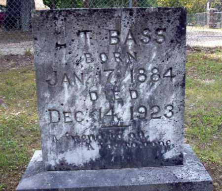 BASS, L T - Calhoun County, Arkansas | L T BASS - Arkansas Gravestone Photos