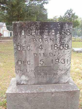 BASS, MOLLIE E - Calhoun County, Arkansas   MOLLIE E BASS - Arkansas Gravestone Photos
