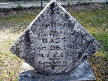 BASS, MARVIN LAWRENCE - Calhoun County, Arkansas | MARVIN LAWRENCE BASS - Arkansas Gravestone Photos