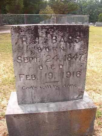 BASS, RICHARD TURNER - Calhoun County, Arkansas | RICHARD TURNER BASS - Arkansas Gravestone Photos