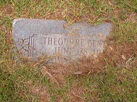 BENTLEY, THEODORE - Calhoun County, Arkansas   THEODORE BENTLEY - Arkansas Gravestone Photos