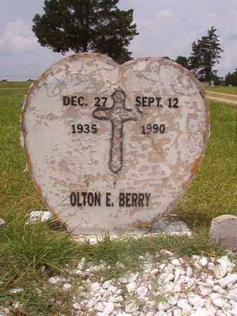 BERRY, OLTON E - Calhoun County, Arkansas | OLTON E BERRY - Arkansas Gravestone Photos
