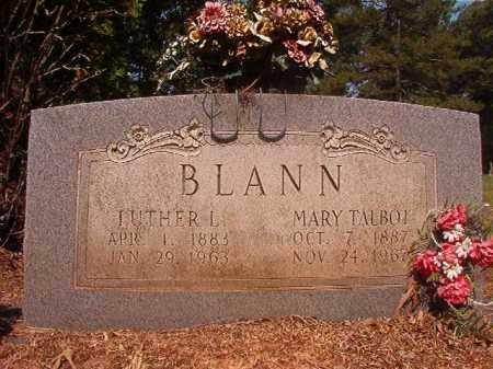 BLANN, MARY - Calhoun County, Arkansas   MARY BLANN - Arkansas Gravestone Photos