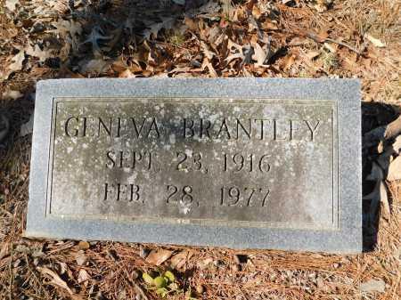 BRANTLEY, GENEVA - Calhoun County, Arkansas   GENEVA BRANTLEY - Arkansas Gravestone Photos