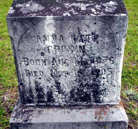 BROWN, ANNA KATE - Calhoun County, Arkansas | ANNA KATE BROWN - Arkansas Gravestone Photos