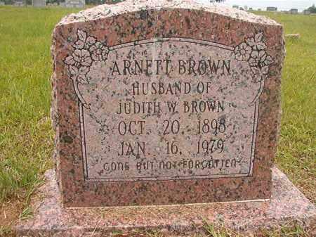 BROWN, ARNETT - Calhoun County, Arkansas | ARNETT BROWN - Arkansas Gravestone Photos