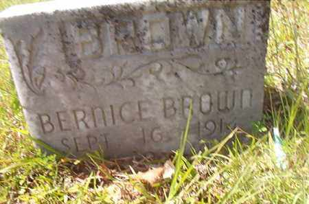 BROWN, BERNICE - Calhoun County, Arkansas | BERNICE BROWN - Arkansas Gravestone Photos
